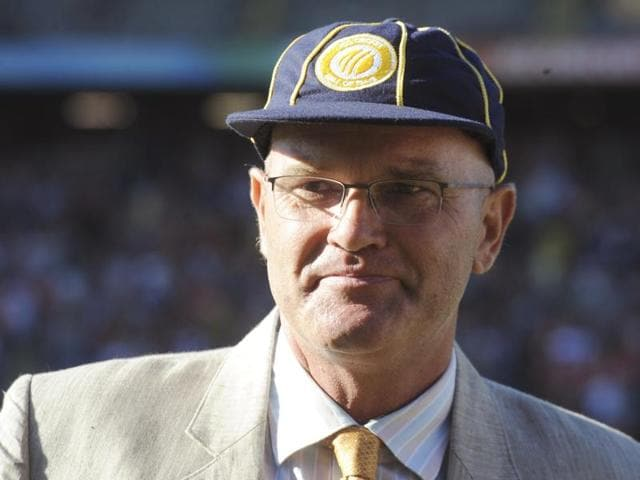 In this February 28, 2015 photo, former New Zealand cricket captain Martin Crowe is pictured after he was inducted into the International Cricket Council's Hall of Fame.
