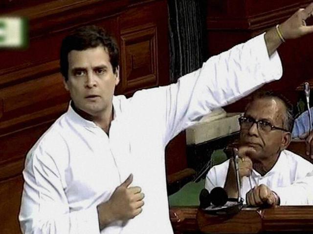 Rahul Gandhi in Lok Sabha,Indian Parliament,Congress