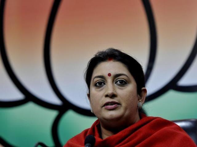 Smriti Irani,BJP,Rohith Vemula