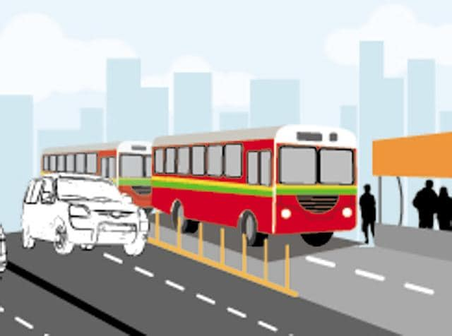 Bus stops here: BMC moots special lanes