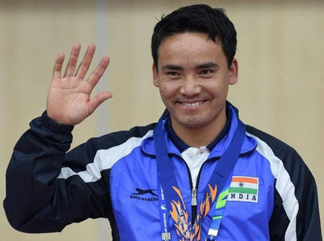 India's Jitu Rai beat a strong field to win gold in the men's 50m pistol event shooting World Cup.