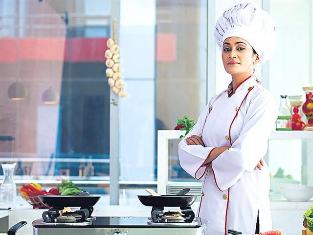 According to a few women chefs, the general notion is that since cooking in a 'hot kitchen', and always being on your feet, can be physically strenuous, the job is better suited for men.(Images Bazaar)