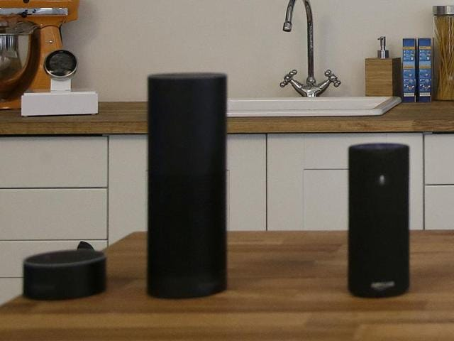 """Tap, a $130 voice-activated portable speaker, which connects to Wi-Fi or a mobile hotspot """"to play music, read the news, provide weather reports, and even order a pizza."""""""