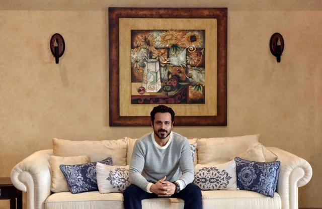 Emraan Hashmi at his Bandra apartment in Mumbai