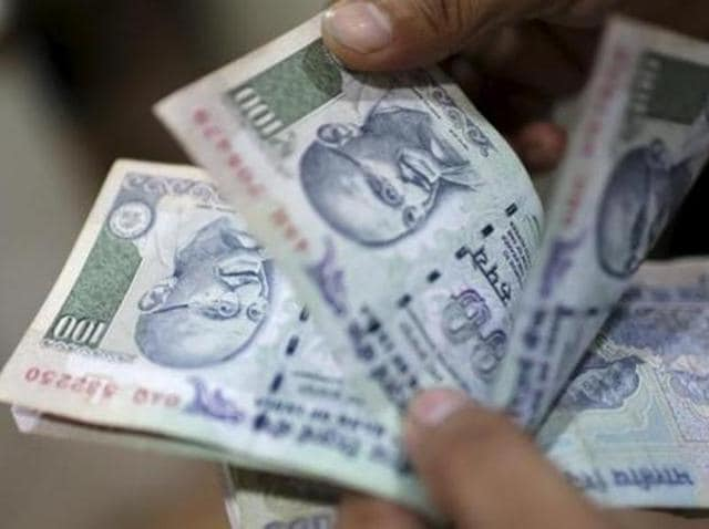 A strong opening in the domestic equity market gave the rupee a big support, but dollar's strength against other currencies limited the gains.