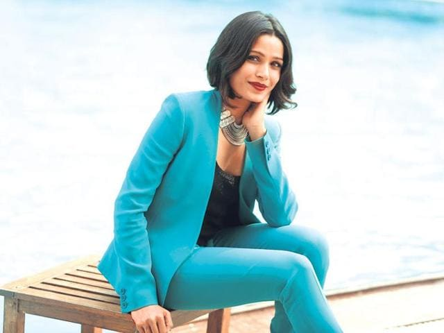 Freida Pinto says she watched The Jungle Book TV series while growing up in India.