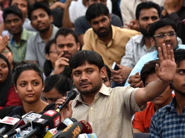 Kanhaiya, the nationalist, swears by Constitution and slams Modi govt