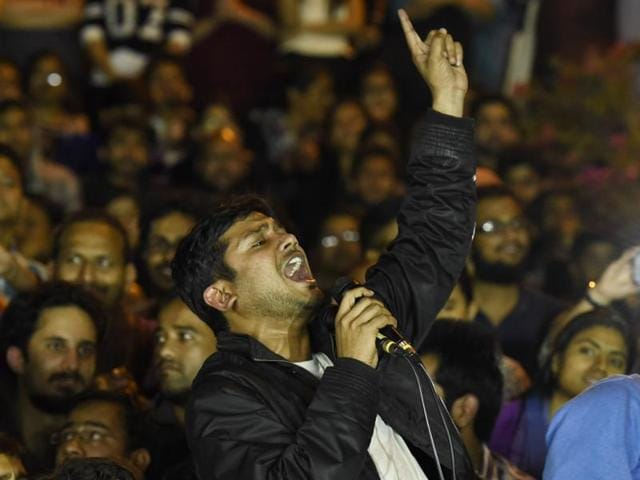 Arrested on sedition charge, JNUSU President Kanhaiya Kumar was released on a six-month interim bail on Thursday.