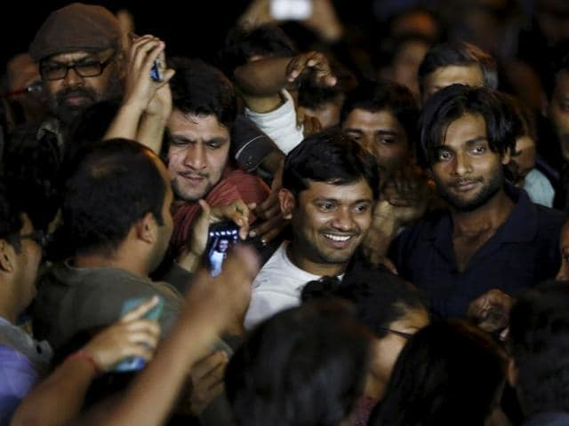 Kanhaiya, who has been accused of sedition, was granted a six-month interim bail by the Delhi High Court on Wednesday.