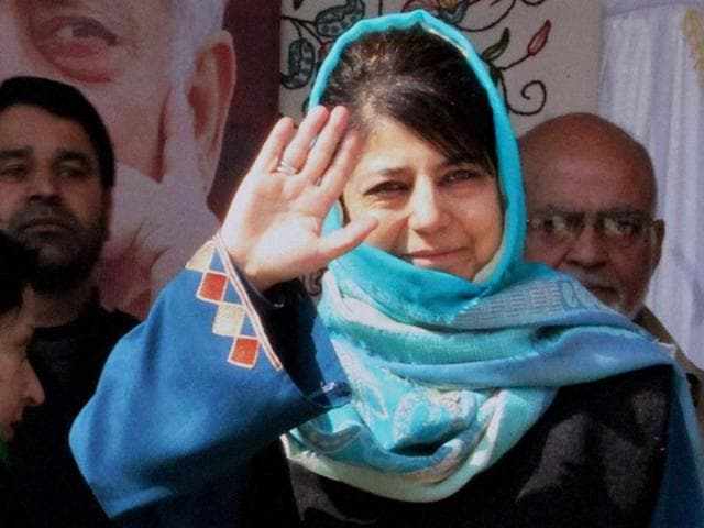 The PDP president said the alliance in Jammu and Kashmir  could break if the BJP did not discard its communal politics.