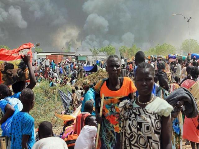 South Sudan,Malakal,UN camp attacked in South Sudan