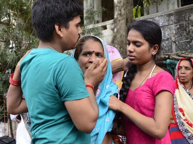 Accident outside MPAssembly,Madhya Pradesh,Bhopal