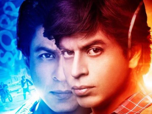 Fan: New poster brings out Shah Rukh Khan's dark side