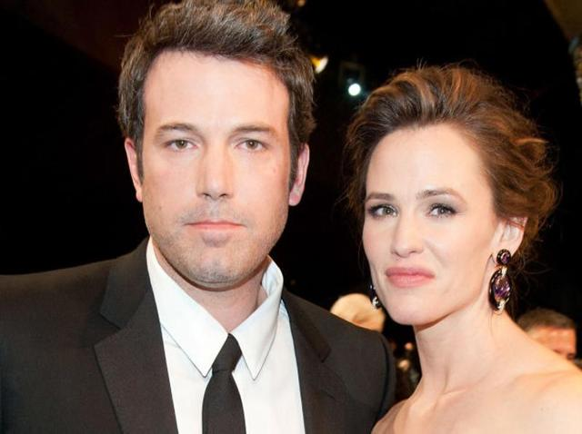 Ben Affleck and Jennifer Garner. The exes came together for their son's birthday.