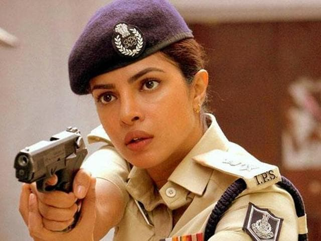 Priyanka Chopra plays IPSAbha Mathur in Jai Gangaajal. The film's a complete throwback to Gangaajal except Abha Mathur replacing Ajay Devgn's Amit Kumar.