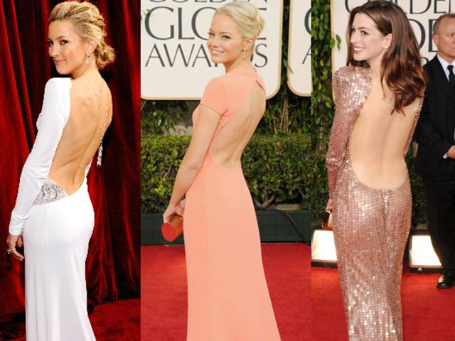 With these simple beauty hacks, you too can rock a backless dress