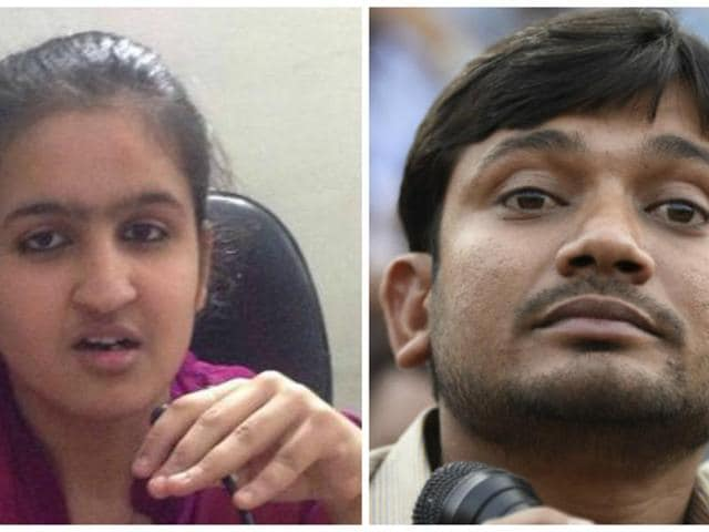 "Jhanvi Behal, 15, who was honoured during Republic Day for her contribution to Swachh Bharat Abhiyan, has challenged JNU Students' Union president Kanhaiya Kumar to an ""open debate"" over freedom of expression."