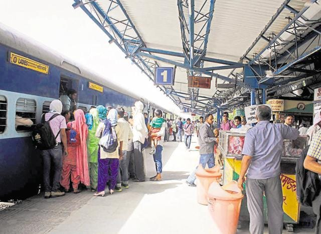 Railway authorities recently upgraded the Gurgaon railway station from Grade A to B after footfall increased by 30%.