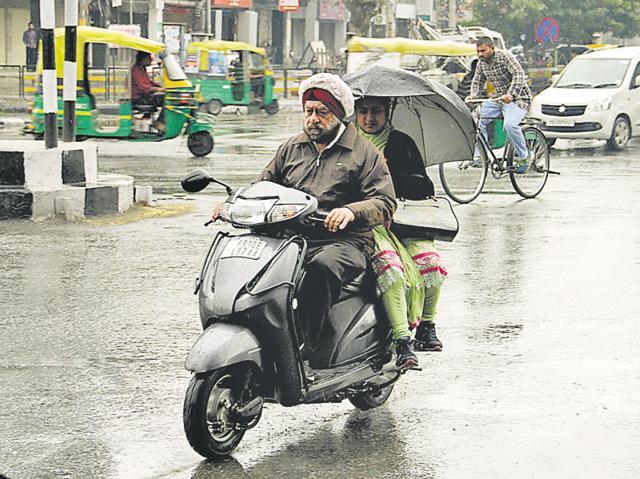 Ludhiana,Light rain,Mild showers