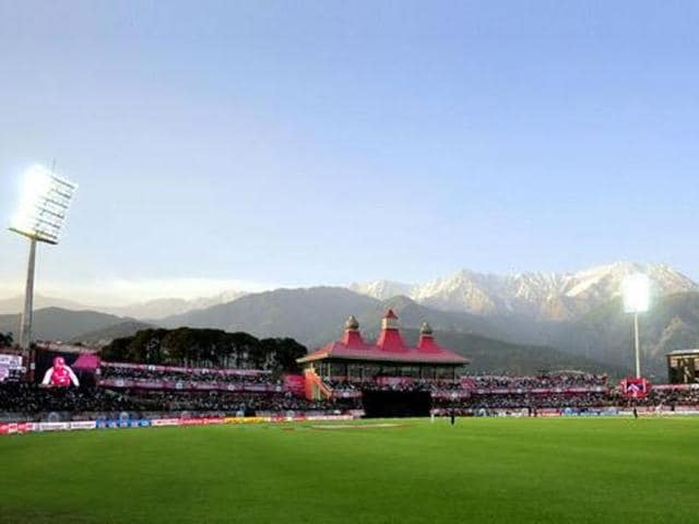 The India-Pakistan match is scheduled to be held on February 19 at the HPCA stadium in Dharamsala.