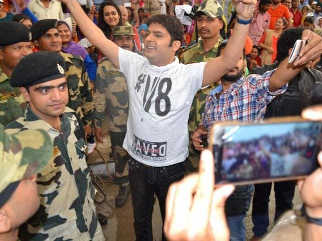 Kapil Sharma,Kapil Sharma show,Wagah Border