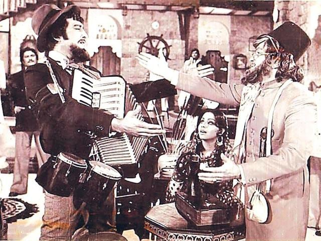 In 1976, the word 'secular' was included in the Indian constitution. Manmohan Desai's blockbuster film Amar Akbar Anthony (1977), the story of three brothers raised as Hindu, Muslim and Christian was an attempt to embody this cinematically.
