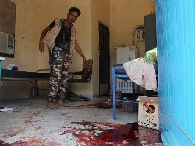 Yemen elderly care home attack
