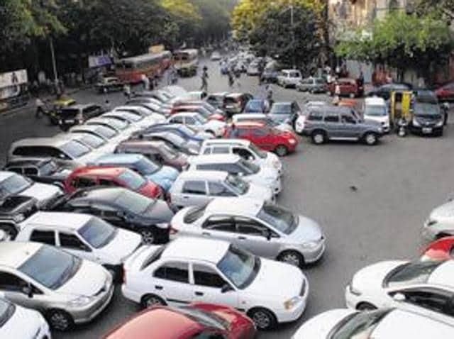 Parking space,Mumbai roads,Mobility plan
