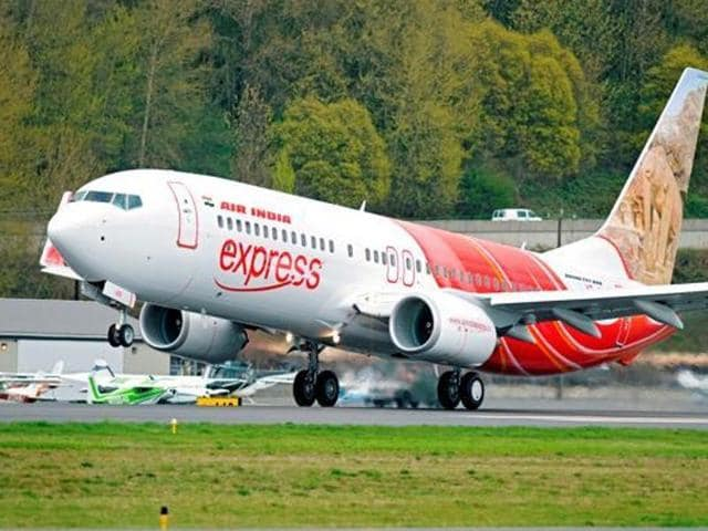 An Air Indian Express flight takes off from Kozhikode.