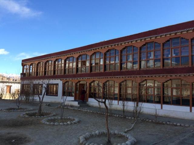 The nunnery at Shey, Ladakh's old capital.