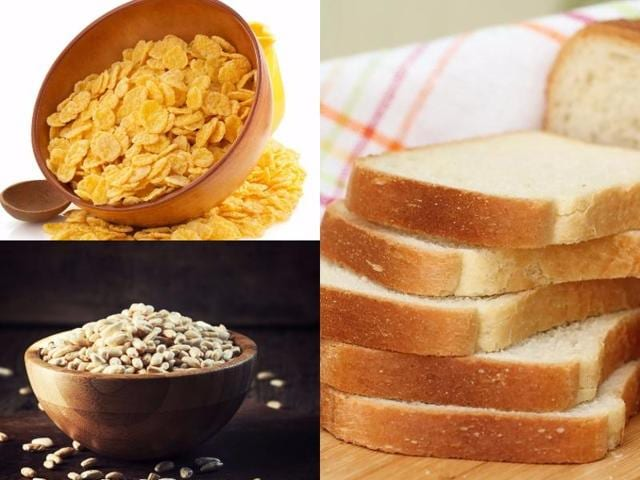 Perfect diet,Healthy eating,White bread