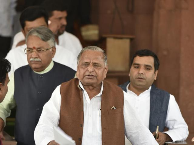 The Samajwadi Party won 23 out of 28 local bodies seats of the UP Legislative Council while BJP drew a blank in the state.