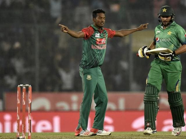 Bangladesh bowlers have benefitted from playing on the greener tracks in the ongoing Asia Cup T20.(AFP Photo)
