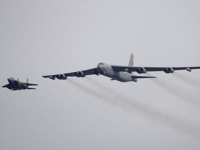 US Air Force B-52s might be deployed to bomb the Islamic State terror group.
