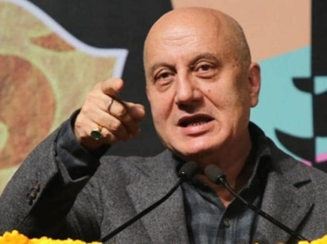 Anupam Kher saidn there was no nationwide debate on intolerance and that only the rich and famous were talking about it.