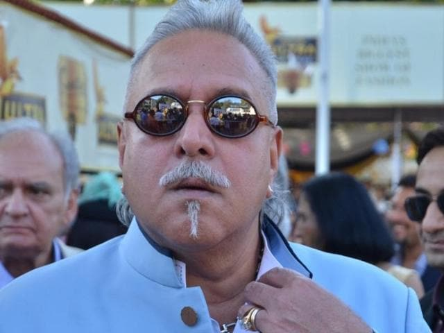 Rajya Sabha MP and Chairman of the UB Group Vijay Mallya during the Parliament winter session at Parliament House in New Delhi.