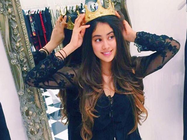 Sridevi's daughter Janhvi turns 19, Insta video reveals her crazy side
