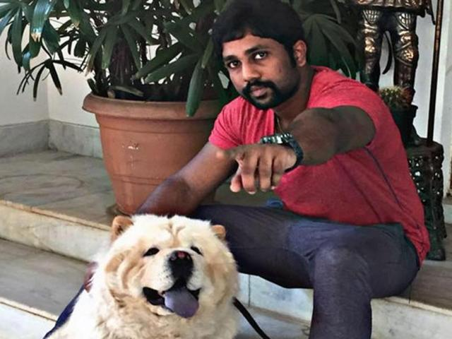 A pciture of Ravela Susheel. The son of AP minister Ravela Kishore Babu, Susheel was sent to judicial custody for 14 days after being accused of molesting a woman last week.