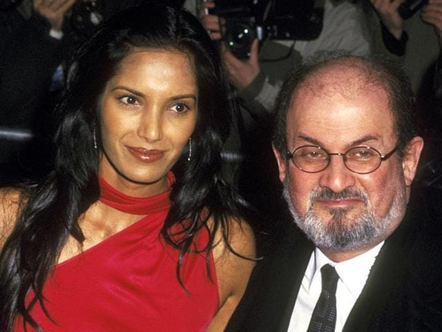 Padma Lakshmi's new memoir Love, Loss, and What We Ate also speaks about how each year when the Nobel Prize went to another writer, her ex-husband author Salman Rushdie took it hard and she would console him.(AFP)