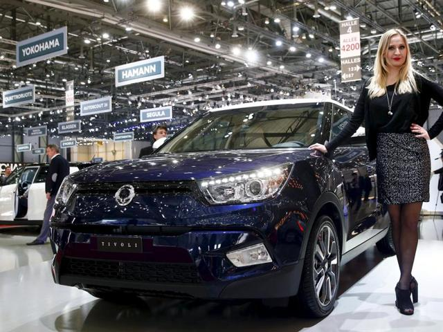 Mahindra & Mahindra is re-thinking the strategy for its loss-making Korean automaker Ssangyong Motor Co, tapping the brakes on its planned push into the United States to focus instead on China. REUTERS/Arnd Wiegmann/Files