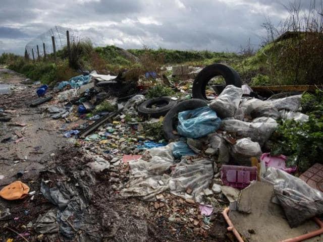 China toxic waste