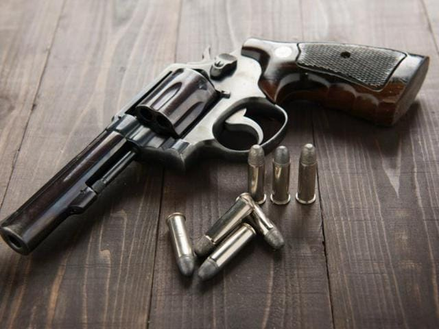 Police sources said two persons — Saryu Mahato and Kameshwar Oraon — have been arrested in the case. One pistol, two cartridges and a mobile phone have been recovered from them. Four others have been identified.