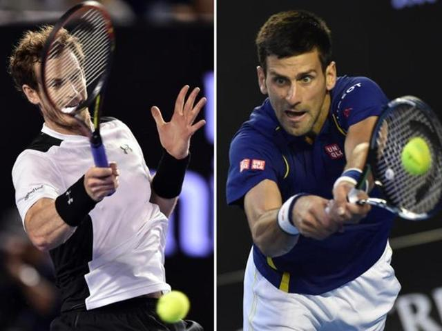 Defending champions Great Britain, spearheaded by Andy Murray, will face 2010 winners Serbia, headed by Novak Djokovic, in the Davis Cup quarterfinals in July after both men took their teams through with tense five-set wins.