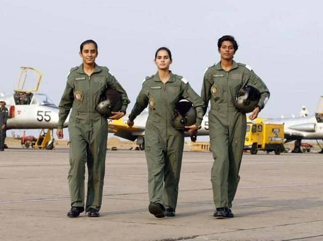 Women's Day,Air Chief,Female fighter pilots