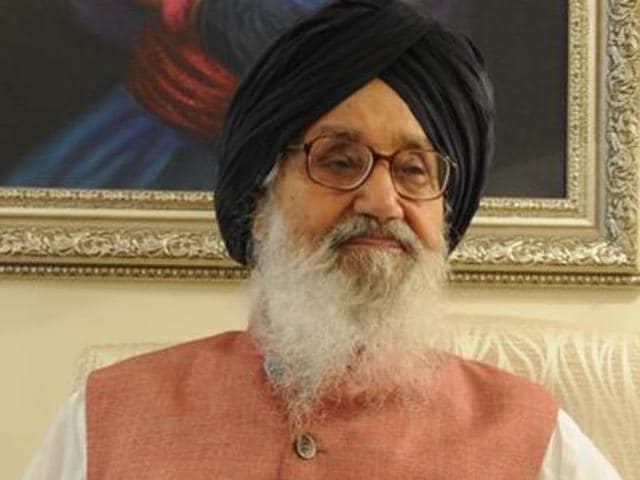 """""""The entire problem of the Sutlej Yamuna Link canal was created by the Congress. We will take it up strongly during the session. Let the appropriate time come,"""" said chief minister Parkash Singh Badal after the joint meeting of SAD and BJP members."""