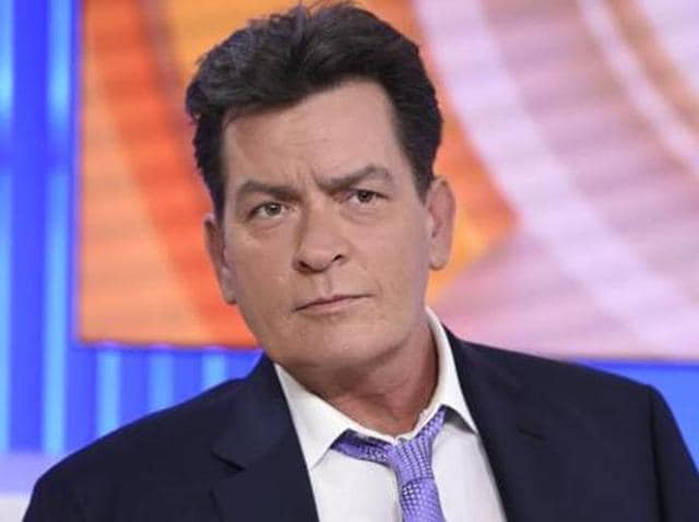 Charlie Sheen announces his HIV positive condition on Matt Lauer's show.