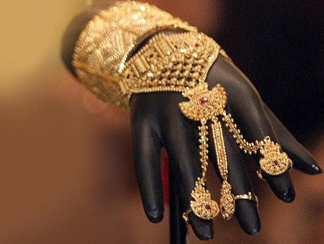 Gold bars have a significant part in India's imports bill