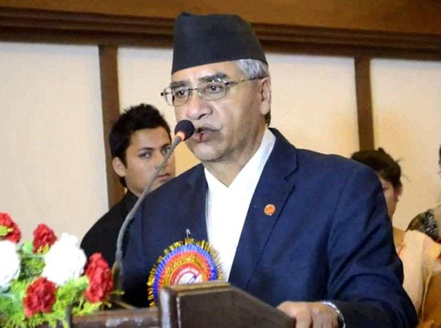 Sher Bahadur Deuba secured 1,822 votes to defeat acting president Ram Chandra Poudel for the top party position.