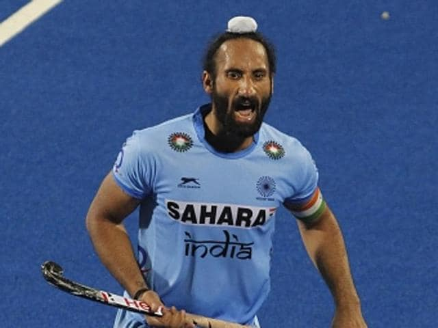 Indian hockey captain Sardar Singh