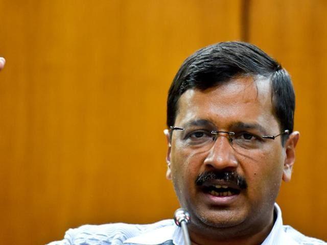 Delhi chief minister Arvind Kejriwal will visit Dera Sachkhand at Ballan village on March 15.